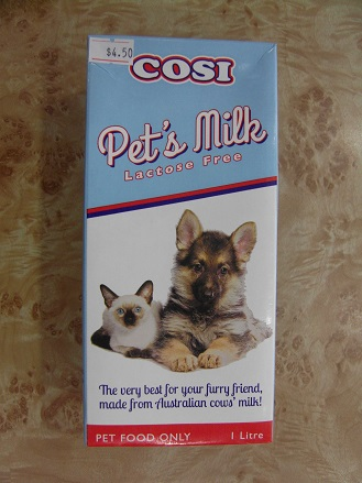 Best Cat Food Brands >> COSI Pet's Milk Lactose Free 1 Litre - Loving Pets