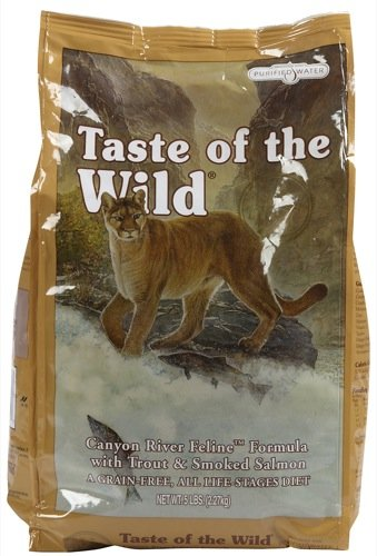 25f0268cdb75 TASTE OF THE WILD Canyon River Feline Formula with Trout   Smoked ...